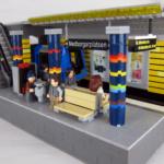 LEGO City tunnelbanestation sthlm