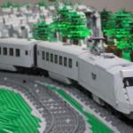 LEGO City tåg landskap mässa