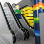 LEGO Rulltrappa i City Lego-modell