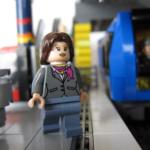 Lego-gubbe Medborgarplatsen Sthlm. city