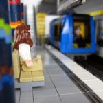 Tunnelbana som LEGO modell