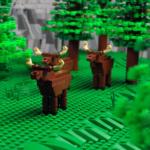SJTAB LEGO-landskaps-modell
