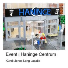 LEGO Arkitekt - Event i Haninge Centrum