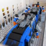 LEGO City tåg Region Skåne Pågatåg