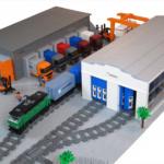 LEGO Godsterminal och raus av LEGO