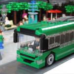 LEGO busshållplats