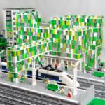 Lego City landskaps-modeller-mässa SJTAB