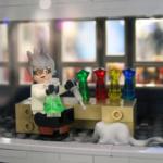 Skrapans insida illustreras i LEGO