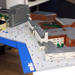 LEGO-modeller visar Linnéuniversitetet
