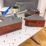 Linnéuniversitetet som LEGO-modeller