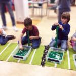 legotävling - LEGO-event med LEGO i fokus på Huskvarna Bibliotek