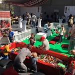 Stockholm Kaknäs -Tornet firade 50år med LEGO event.