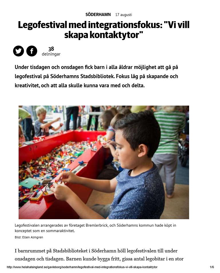 Legofestival i Söderhamn